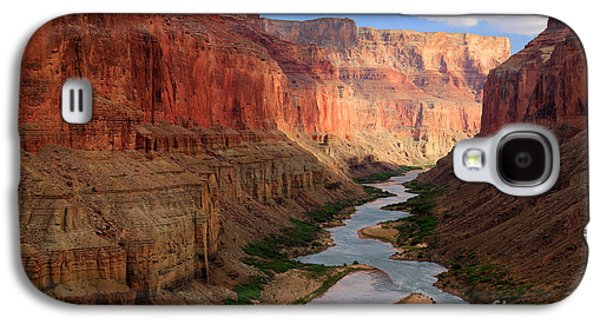 Grand Canyon Photographs Galaxy S4 Cases - Marble Canyon Galaxy S4 Case by Inge Johnsson