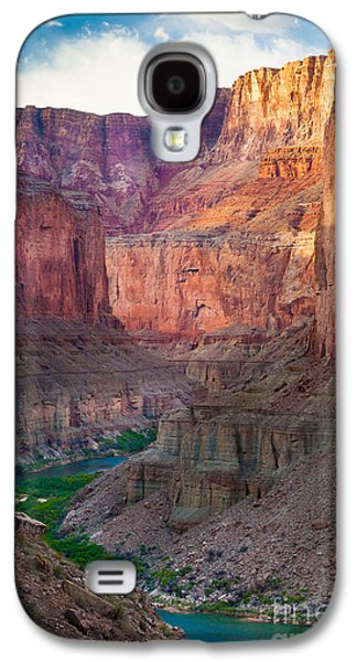Grand Canyon Photographs Galaxy S4 Cases - Marble Cliffs Galaxy S4 Case by Inge Johnsson