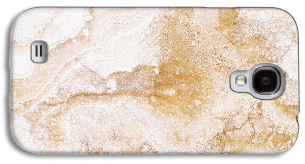 Marble Galaxy S4 Cases - Marble Galaxy S4 Case by Elena Elisseeva