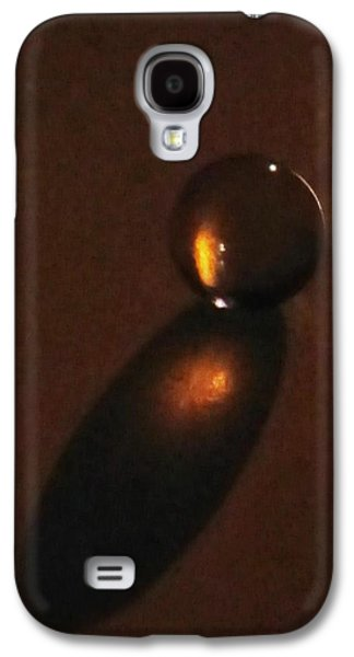 Marble Galaxy S4 Cases - Marble Galaxy S4 Case by Marianna Mills