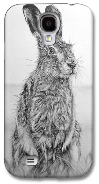 March Hare Galaxy S4 Cases - March Hare Galaxy S4 Case by Frances Vincent
