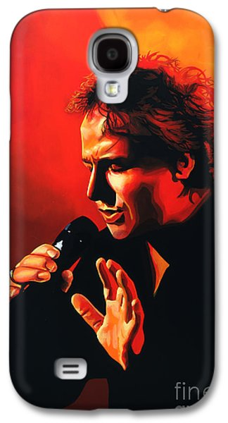 Voice Galaxy S4 Cases - Marco Borsato Galaxy S4 Case by Paul  Meijering