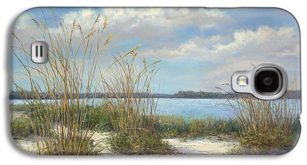 Beach Landscape Galaxy S4 Cases - Marco Island Galaxy S4 Case by Laurie Hein