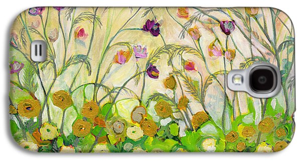Cosmos Paintings Galaxy S4 Cases - Mardi Gras Galaxy S4 Case by Jennifer Lommers