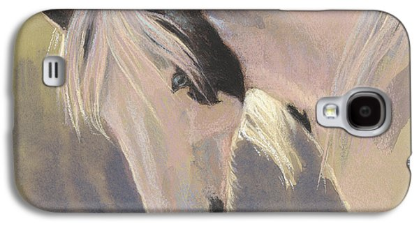 Gypsy Galaxy S4 Cases - Mare with a Halo Galaxy S4 Case by Tracie Thompson