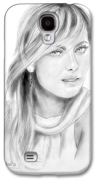 Sharapova Galaxy S4 Cases - Maria Sharapova Galaxy S4 Case by Dave Lawson