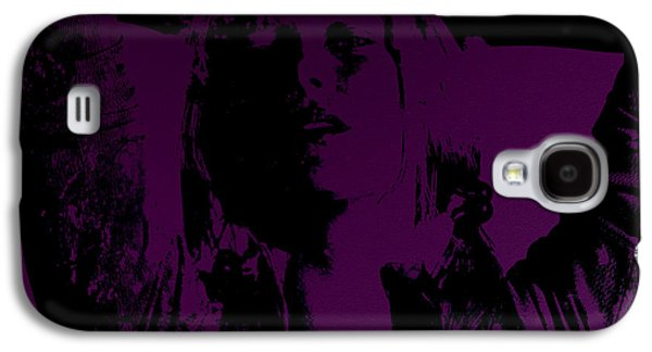 French Open Mixed Media Galaxy S4 Cases - Maria Sharapova Feeling It Galaxy S4 Case by Brian Reaves