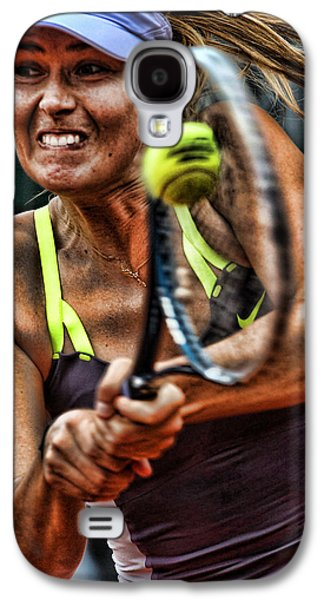Sharapova Galaxy S4 Cases - Maria Sharapova Galaxy S4 Case by Srdjan Petrovic
