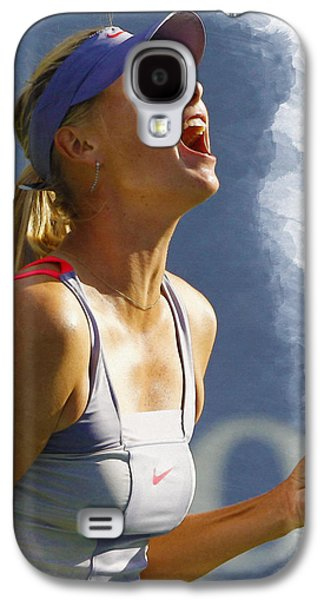 Sharapova Galaxy S4 Cases - Maria Sharapova - US Open 2011 Galaxy S4 Case by Don Kuing