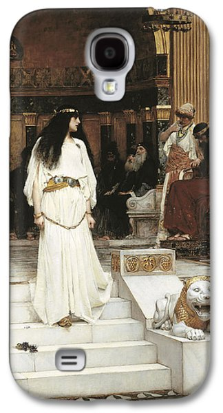 Trial Galaxy S4 Cases - Mariamne, 1887 Oil On Canvas Galaxy S4 Case by John William Waterhouse