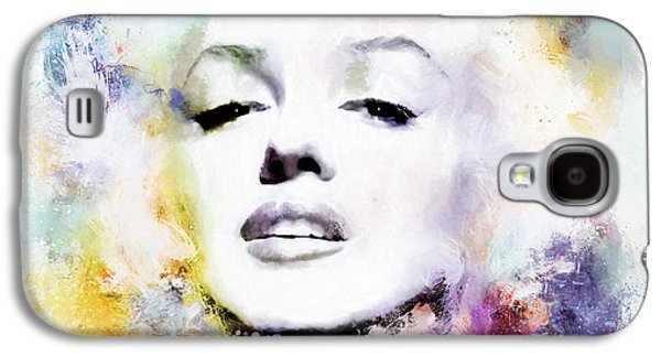 Munroe Galaxy S4 Cases - Marilyn American Beauty Galaxy S4 Case by Shanina Conway