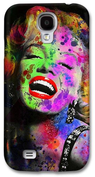 Beauty Mark Galaxy S4 Cases - Marilyn Galaxy S4 Case by Daniel Hagerman