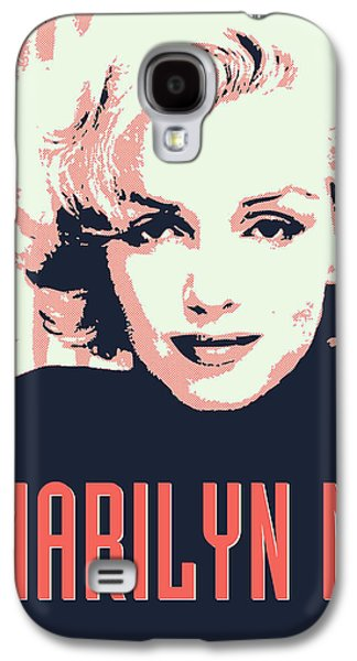 Marilyn M Galaxy S4 Case by Chungkong Art