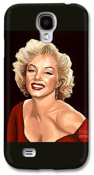 Marilyn Monroe 3 Galaxy S4 Case by Paul Meijering