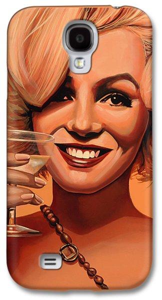 Marilyn Monroe 5 Galaxy S4 Case by Paul Meijering