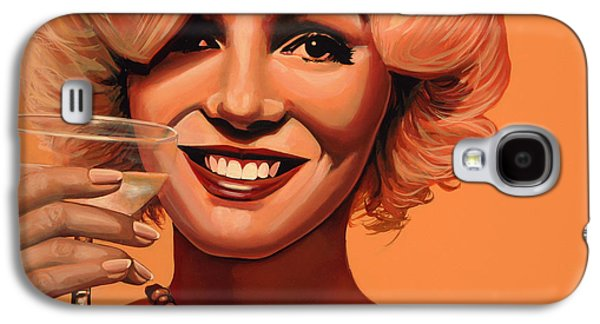 Best Friends Galaxy S4 Cases - Marilyn Monroe 5 Galaxy S4 Case by Paul  Meijering