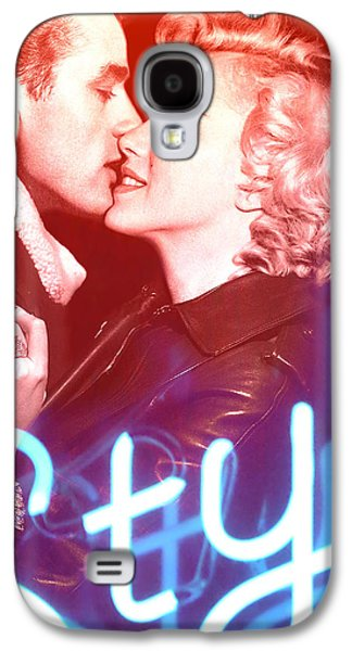 Taylor Swift Paintings Galaxy S4 Cases - Marilyn Monroe and James Dean Kiss Style Taylor Swift Limited Galaxy S4 Case by BRAILLIANT Contemporary Fashion Pop Art Prints
