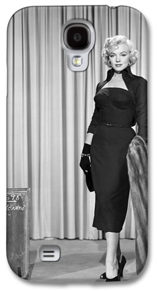1950s Portraits Photographs Galaxy S4 Cases - Marilyn Monroe in Gentlemen Prefer Blondes Galaxy S4 Case by Nomad Art And  Design