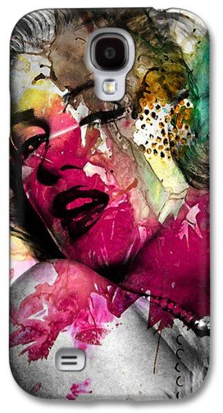 Marilyn Monroe Galaxy S4 Case by Mark Ashkenazi