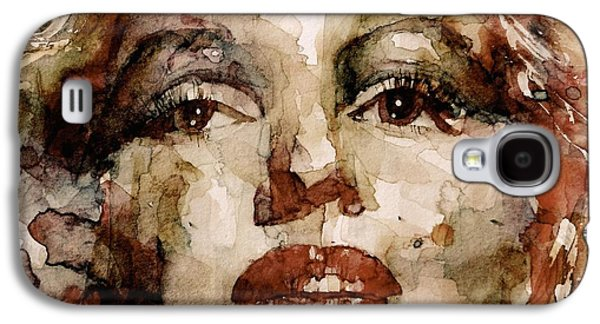 Emotion Mixed Media Galaxy S4 Cases - Marilyn Galaxy S4 Case by Paul Lovering