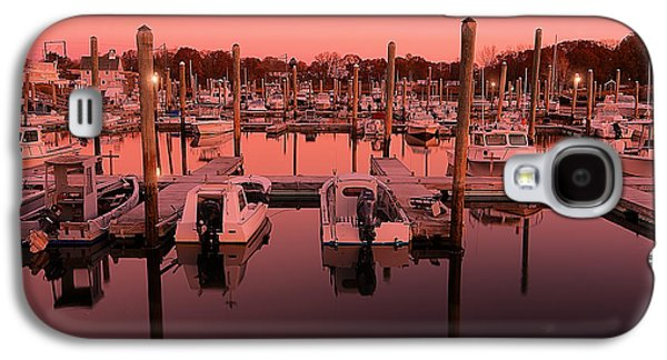 Warwick Galaxy S4 Cases - Marina Golden Hour Galaxy S4 Case by Lourry Legarde