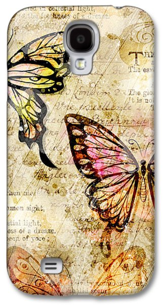 Insects Digital Galaxy S4 Cases - Mariposa Equinox Galaxy S4 Case by Gary Bodnar