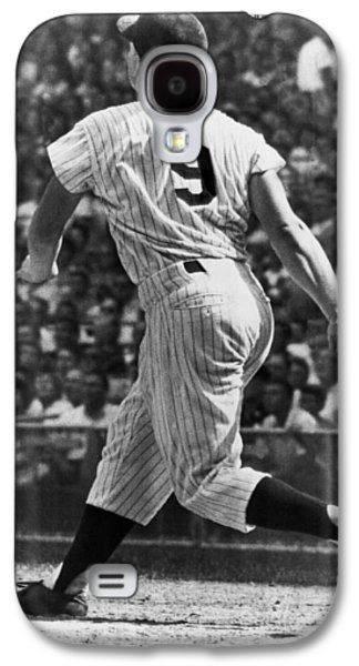 Maris Hits 52nd Home Run Galaxy S4 Case by Underwood Archives