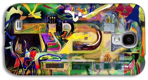 Inner Self Galaxy S4 Cases - Marital Harmony 60 Galaxy S4 Case by David Baruch Wolk