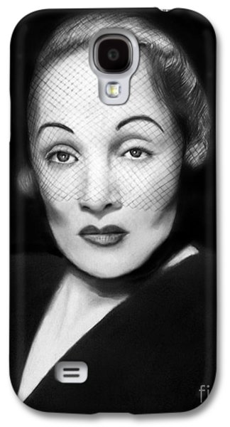 Photorealistic Galaxy S4 Cases - Marlene Dietrich Galaxy S4 Case by Peter Piatt