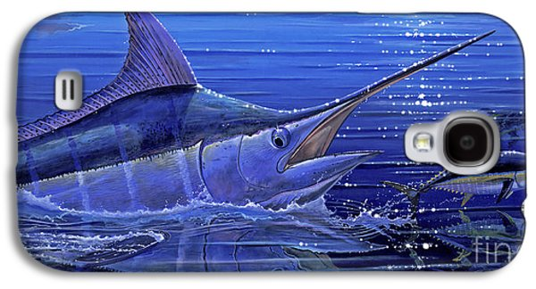 Marlin Galaxy S4 Cases - Marlin mirror Off0022 Galaxy S4 Case by Carey Chen