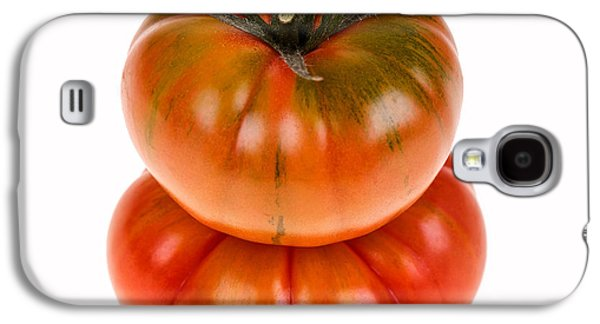 Studio Photographs Galaxy S4 Cases - Marmande tomatoes Galaxy S4 Case by Jane Rix