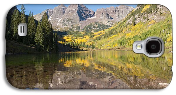 White River Galaxy S4 Cases - Maroon Bells in Autumn Galaxy S4 Case by Juli Scalzi