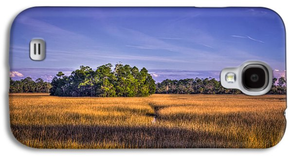 Wetlands Galaxy S4 Cases - Marsh Hammock Galaxy S4 Case by Marvin Spates