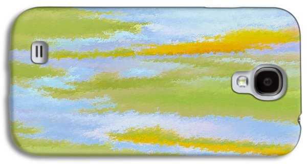 Ben Gertsberg Digital Art Galaxy S4 Cases - Marsh Landscape Galaxy S4 Case by Ben and Raisa Gertsberg