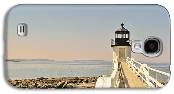 Midcoast Galaxy S4 Cases - Marshall Point Lighthouse Maine Galaxy S4 Case by Marianne Campolongo