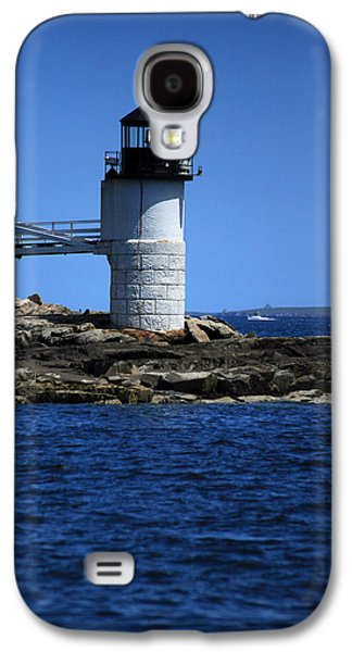 Marshall Point Surrounded By Blue Galaxy S4 Case by Karol Livote