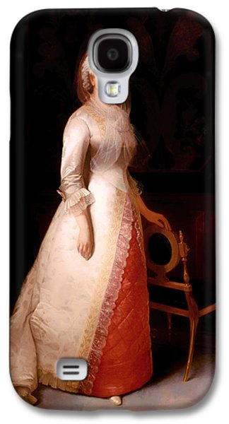 First Lady Paintings Galaxy S4 Cases - Martha Custis Washington Galaxy S4 Case by Eliphalet Andrews
