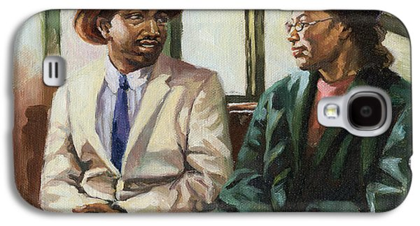 African-american Galaxy S4 Cases - Martin and Rosa Up Front Galaxy S4 Case by Colin Bootman