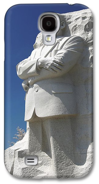 Cherry Blossoms Digital Art Galaxy S4 Cases - Martin Luther King Jr. Memorial Galaxy S4 Case by Mike McGlothlen