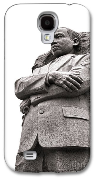 African-american Galaxy S4 Cases - Martin Luther King Memorial Statue Galaxy S4 Case by Olivier Le Queinec