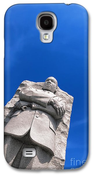 African-american Galaxy S4 Cases - Martin Luther King Galaxy S4 Case by Olivier Le Queinec