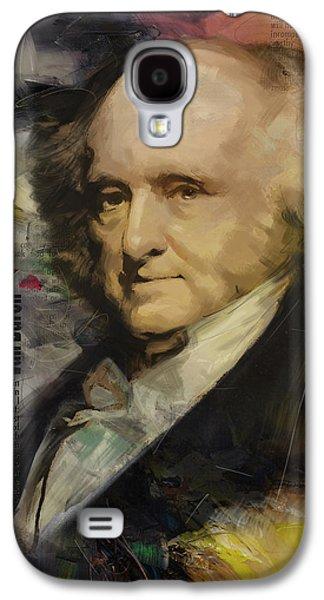 James Buchanan Galaxy S4 Cases - Martin Van Buren Galaxy S4 Case by Corporate Art Task Force