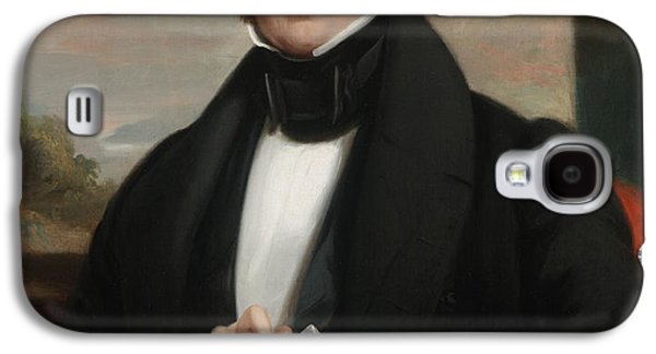 Sideburns Galaxy S4 Cases - Martin Van Buren Galaxy S4 Case by Shepard Alonzo Mount