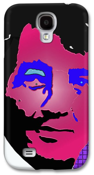 Frank Sinatra Paintings Galaxy S4 Cases - Martini man Galaxy S4 Case by Robert Margetts