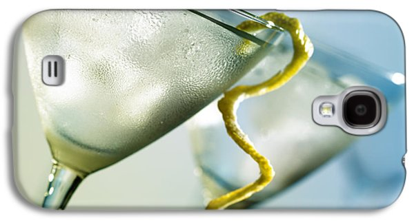 Martini With Lemon Peel Galaxy S4 Case by Johan Swanepoel