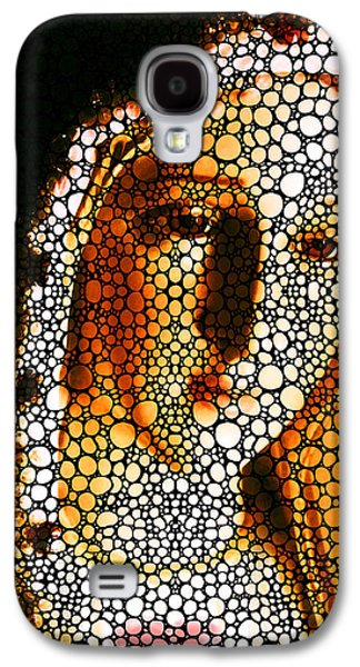 Historical Figures Galaxy S4 Cases - Mary - Holy Mother By Sharon Cummings Galaxy S4 Case by Sharon Cummings