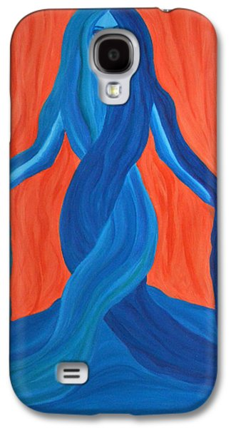 Daina White Galaxy S4 Cases - Mary - Mother of Earth - Mother of Light Galaxy S4 Case by Daina White