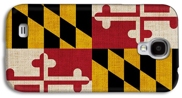 Declaration Of Independence Galaxy S4 Cases - Maryland state flag Galaxy S4 Case by Pixel Chimp