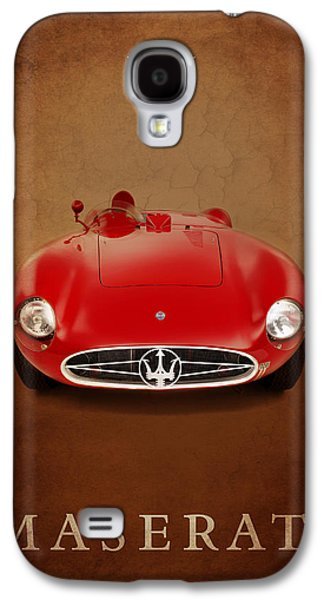 Sports Photographs Galaxy S4 Cases - Maserati 300 S Galaxy S4 Case by Mark Rogan