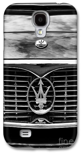 60s Photographs Galaxy S4 Cases - Maserati 3500 GT Monochrome  Galaxy S4 Case by Tim Gainey